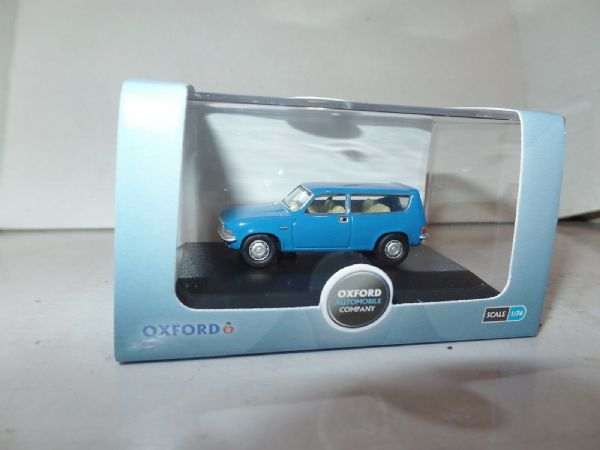 Oxford 76ALL004 ALL004 1/76 OO Scal BLMC Austin Allegro 1300 Estate Tahiti Blue